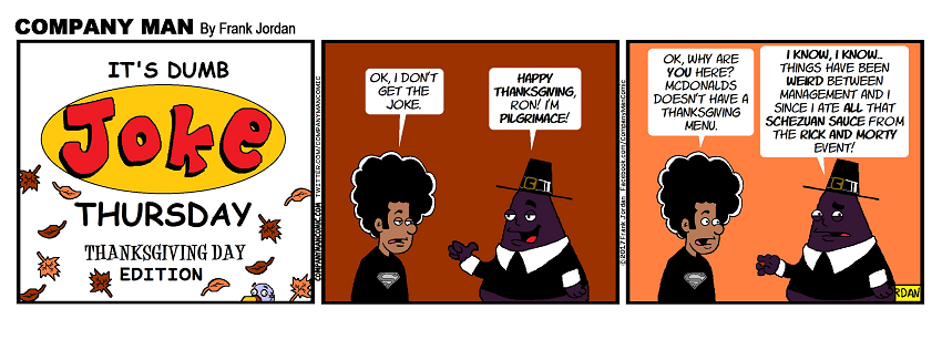 It's #DumbJokeThursday! 11/24/17