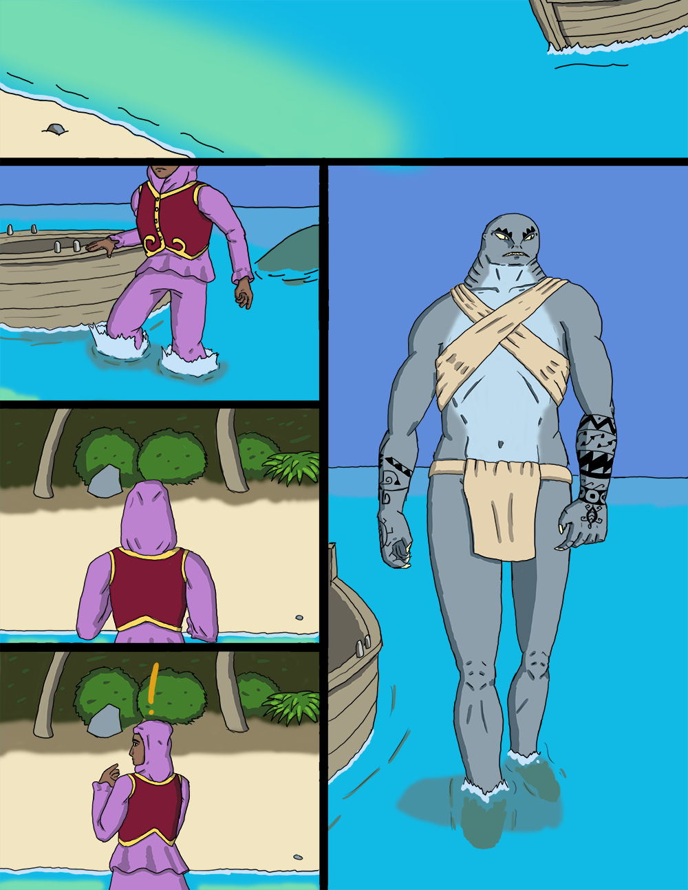 The Wide Ocean - Page 3