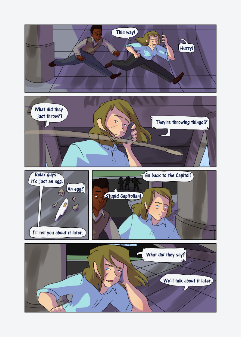 Unwanted Attention: Page 35