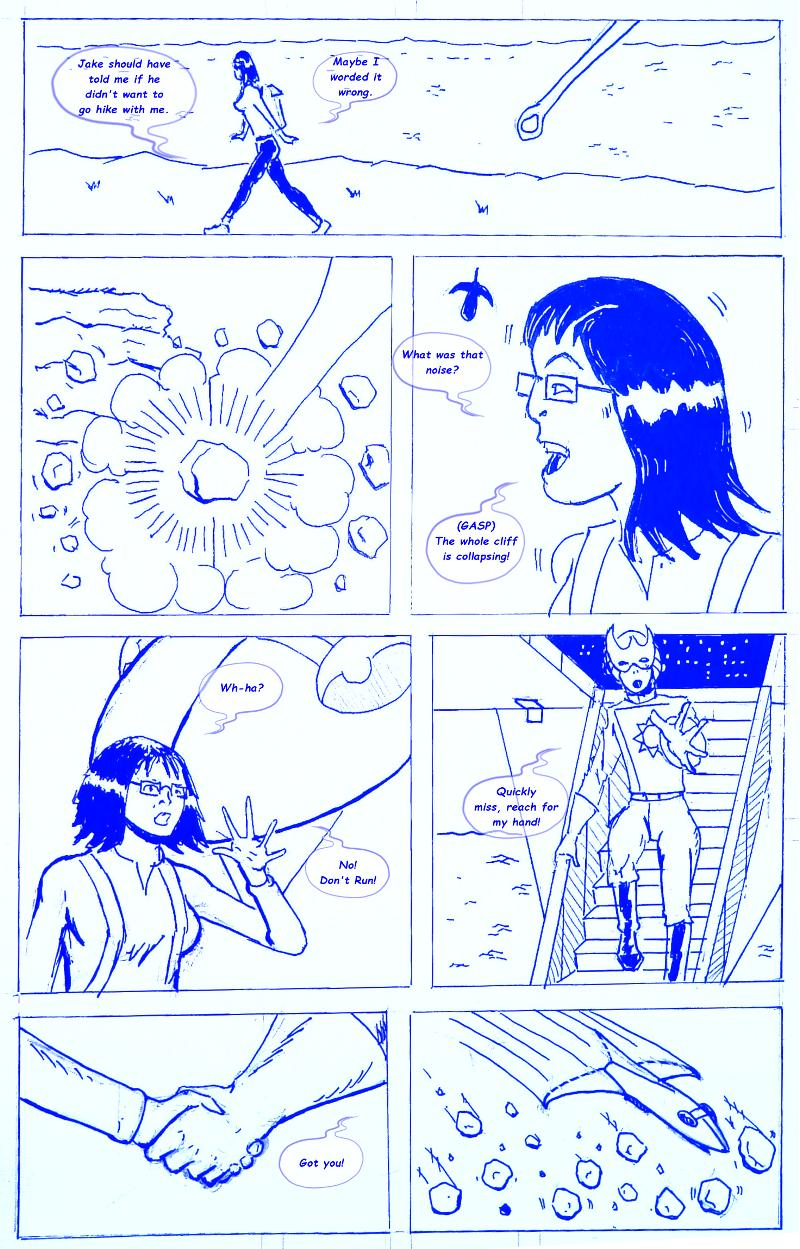 It's Just Another Day, Page 1 by Lee Lines