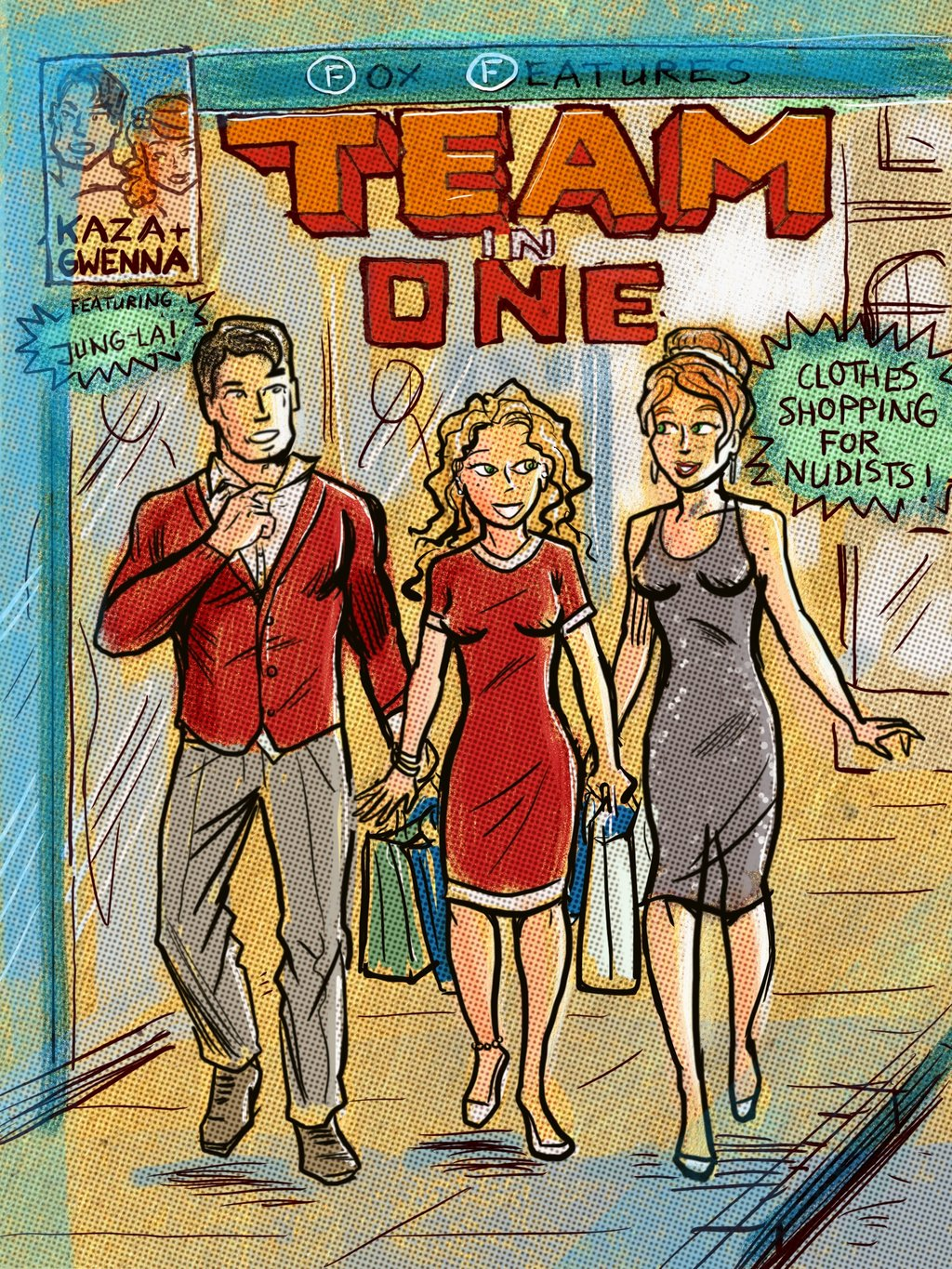 Team-In-One: Kaza and Gwenna and Jung-La