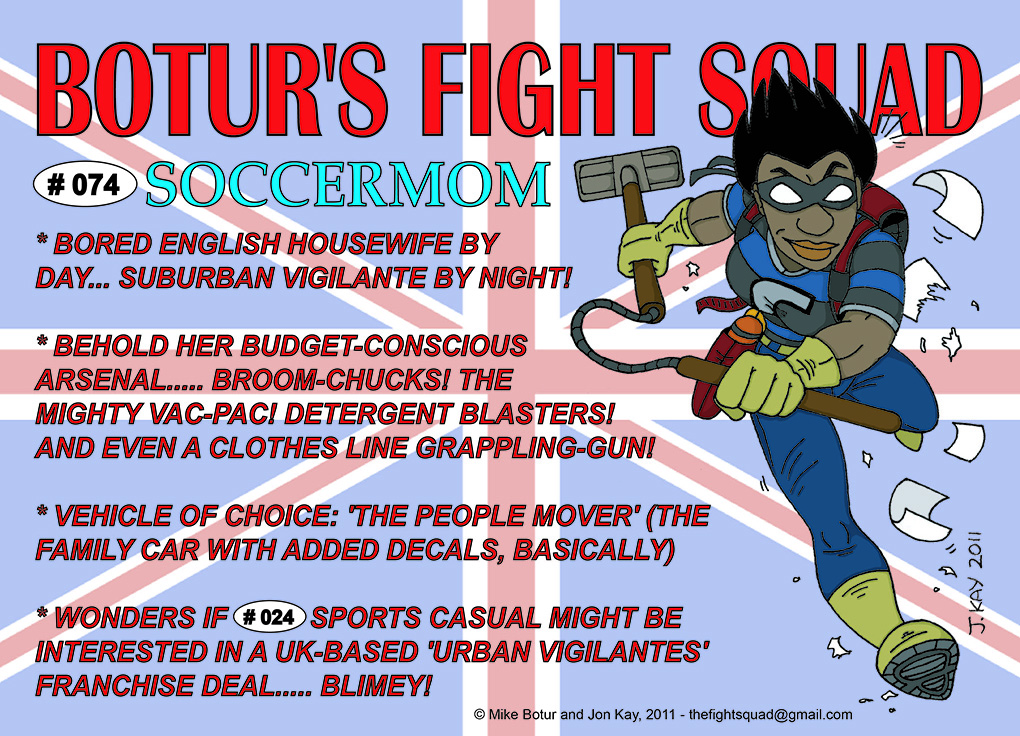 Character profile: Soccer Mom