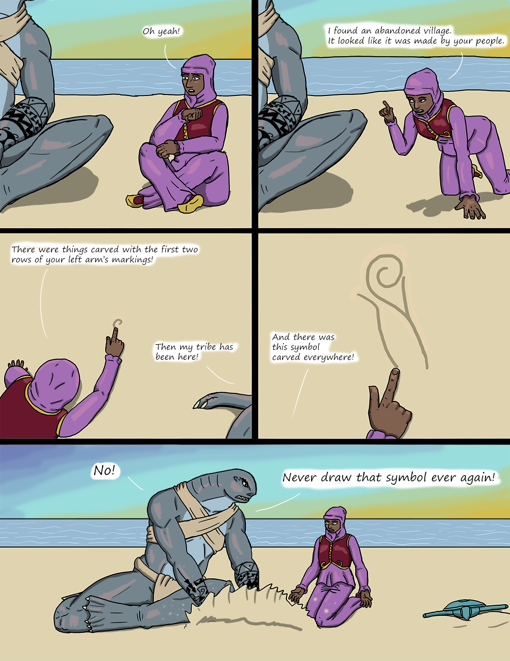The Wide Ocean - Page 35