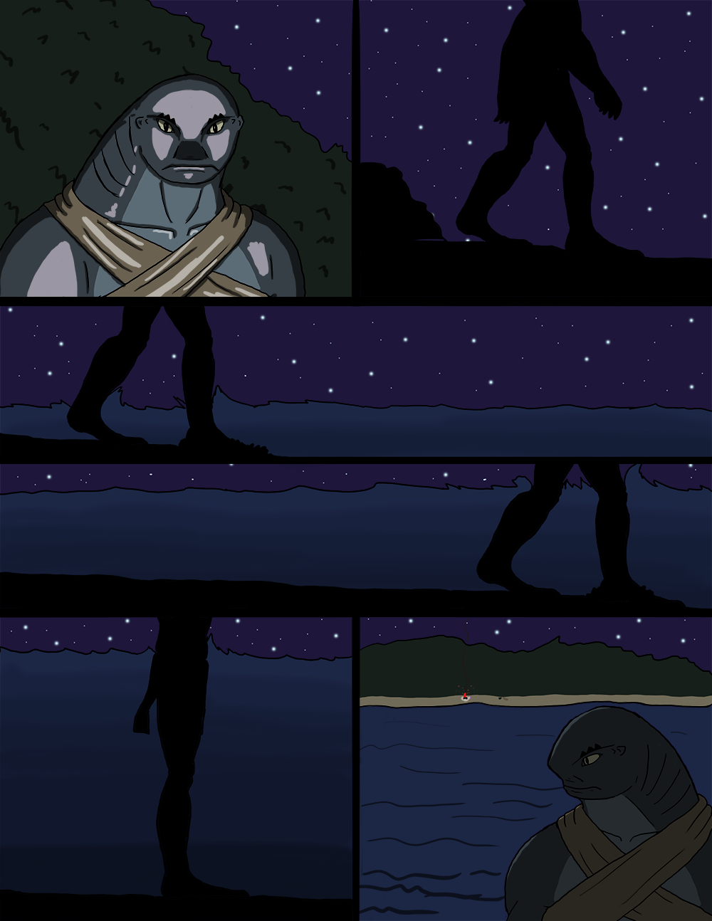 The Wide Ocean - Page 38