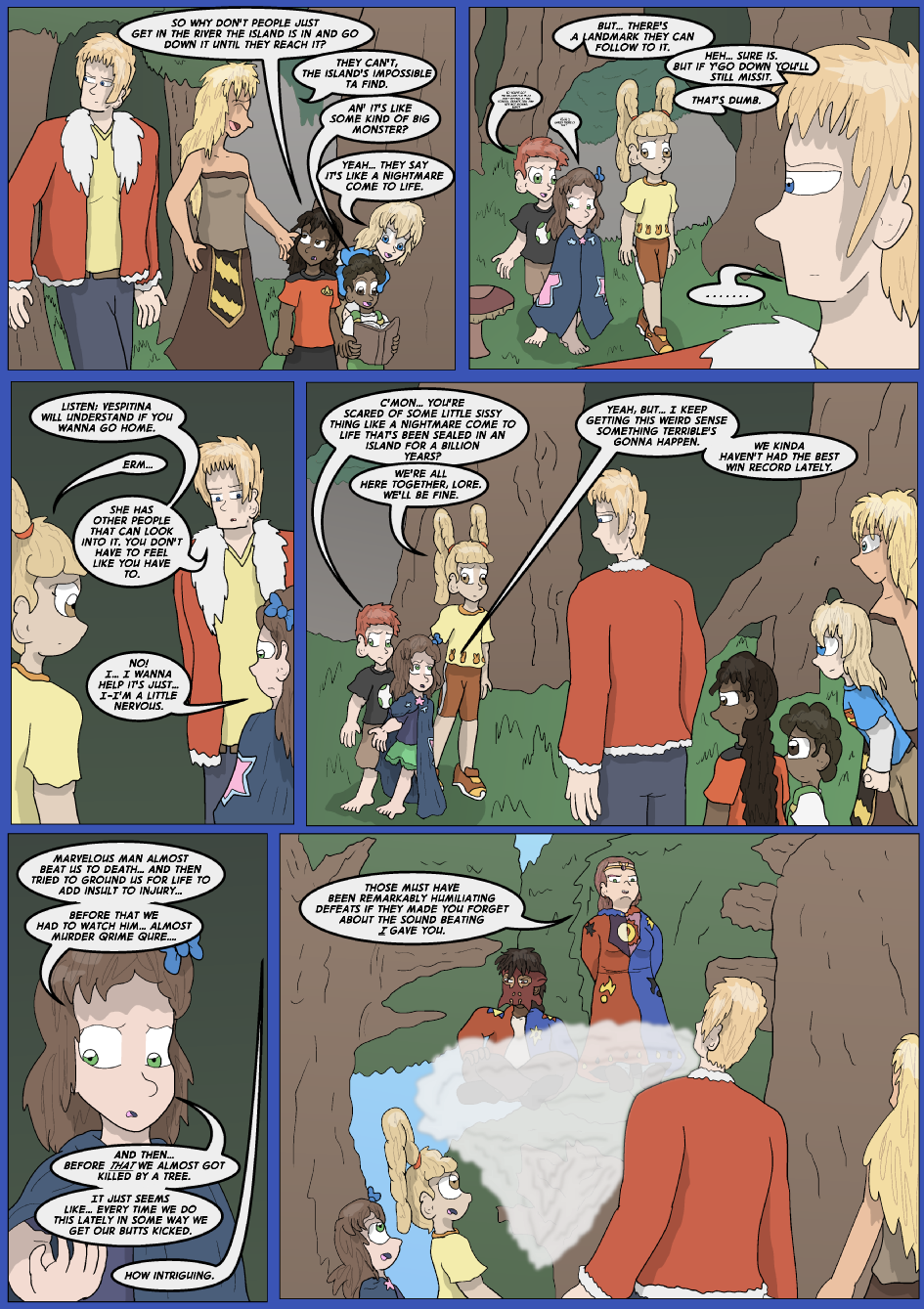 The Lost Spell of Baron Fontainebleu, Page 4