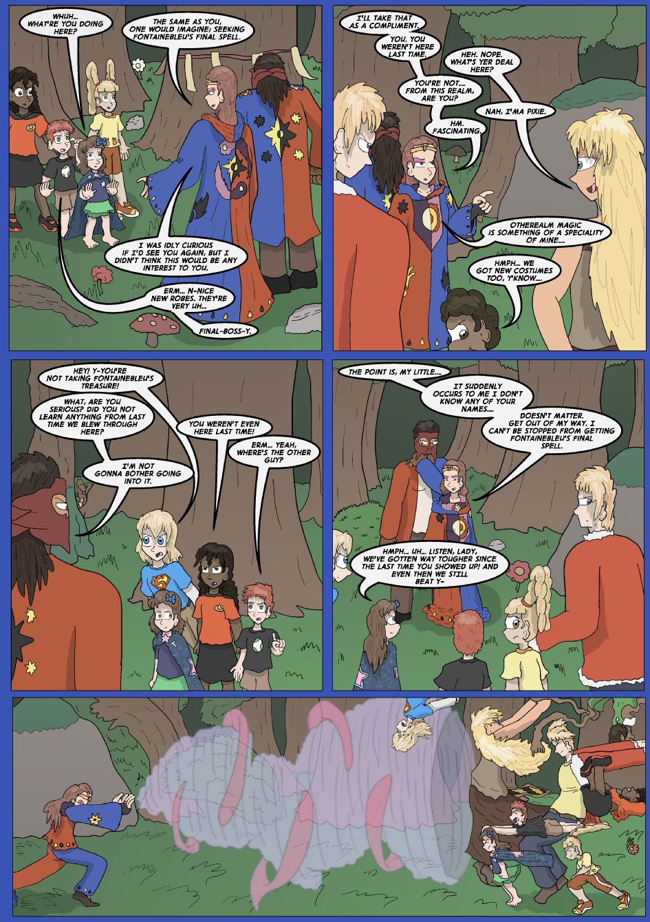 The Lost Spell of Baron Fontainebleu, Page 5