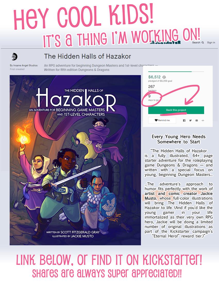 Hidden Halls of Hazakor!