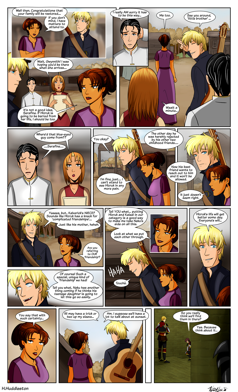 Chapter 6.18-- Complicated Friendships