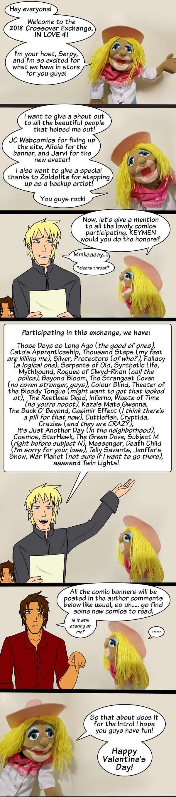 IN LOVE 4, Intro Comic!