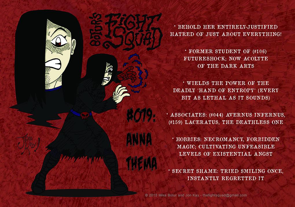 Character profile: Anna Thema