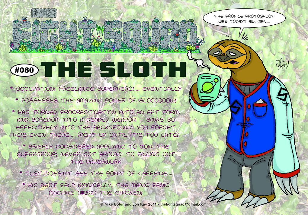 Character profile: The Sloth
