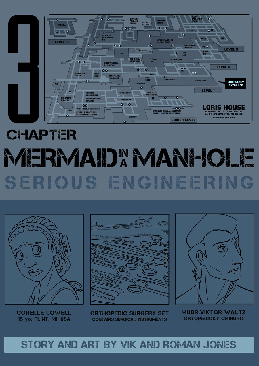 Mermaid in a Manhole cover