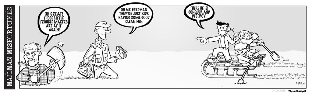 Mailman Misfortunes 2-28-2018