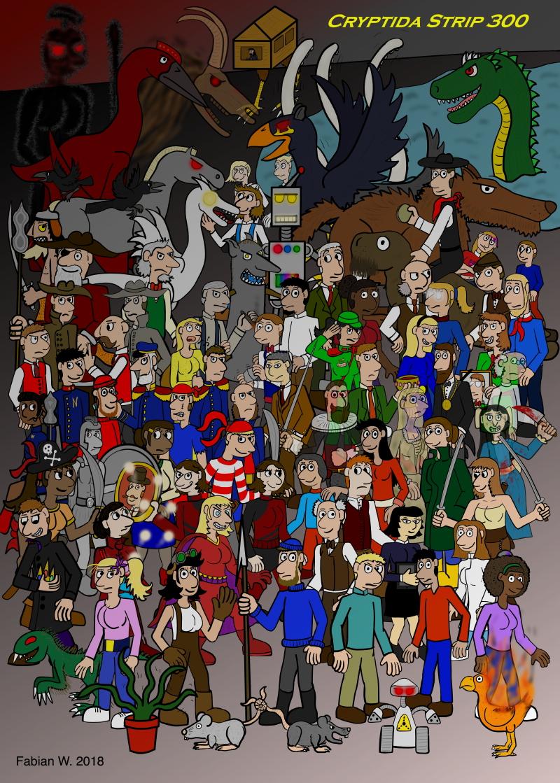 EVERYONE! (Strip 300)