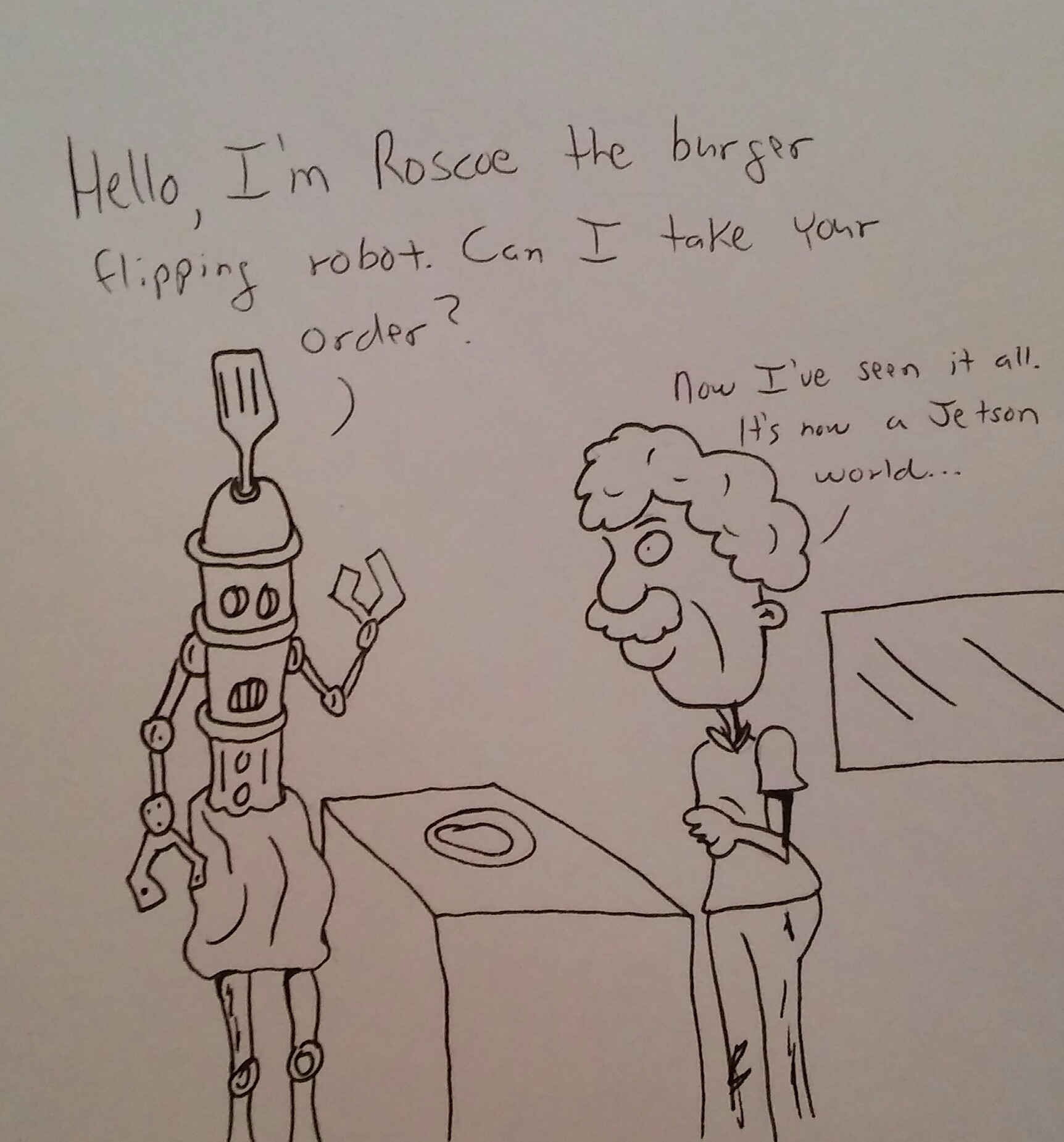 Future of flipping burgers