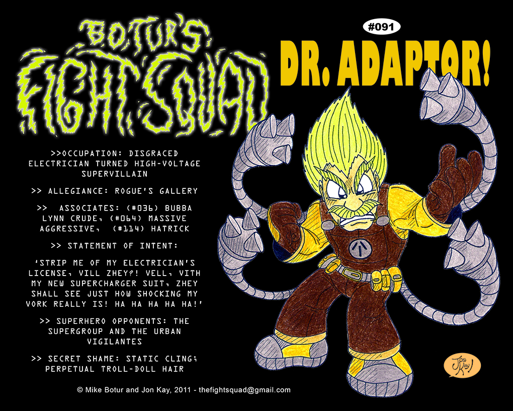 Character profile: Dr. Adaptor