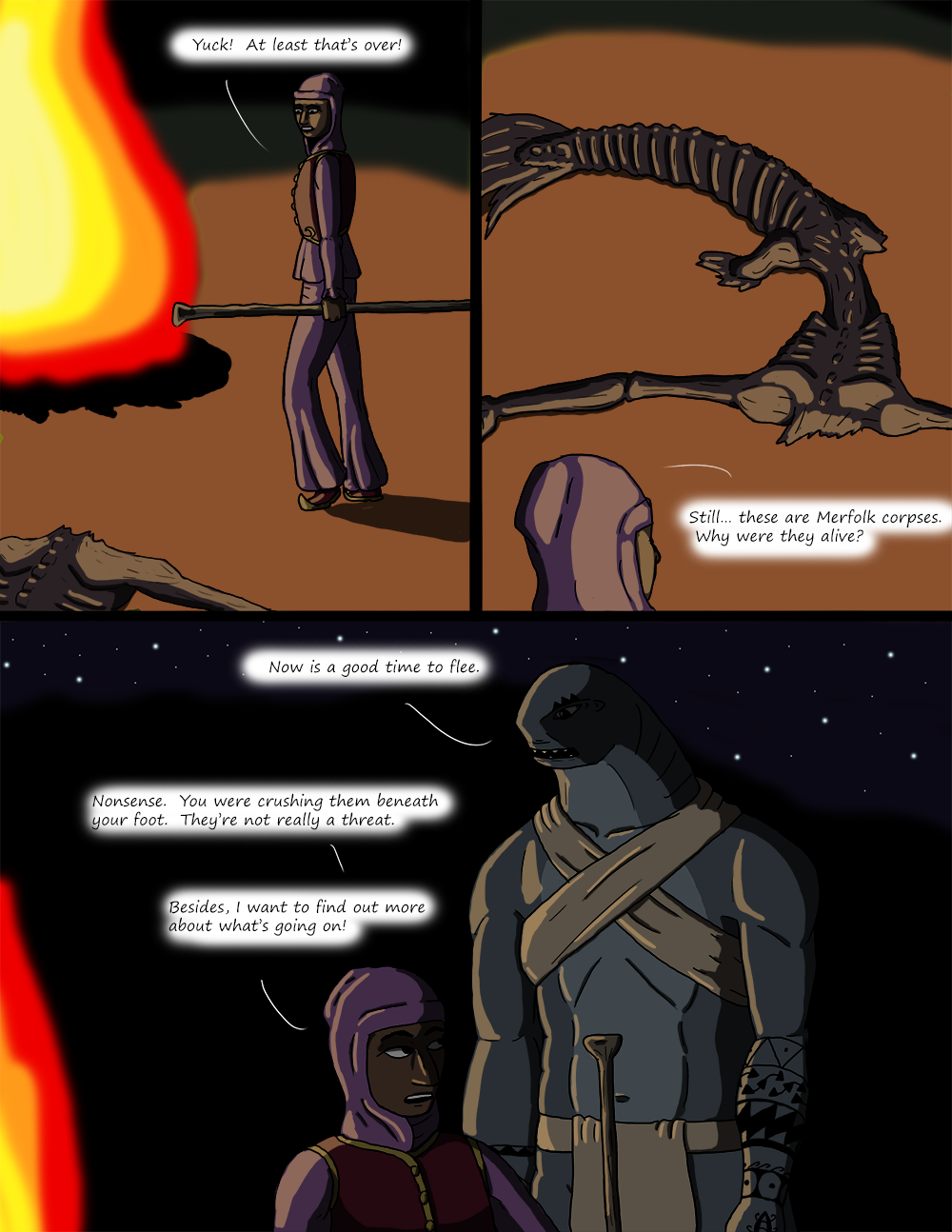 The Wide Ocean - Page 46