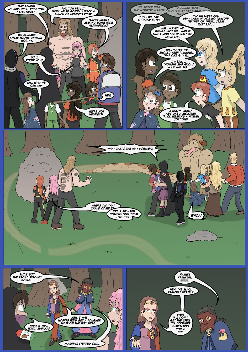 The Lost Spell of Baron Fontainebleu, Page 13