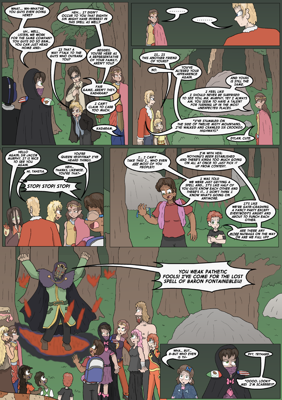 The Lost Spell of Baron Fontainebleu, Page 15