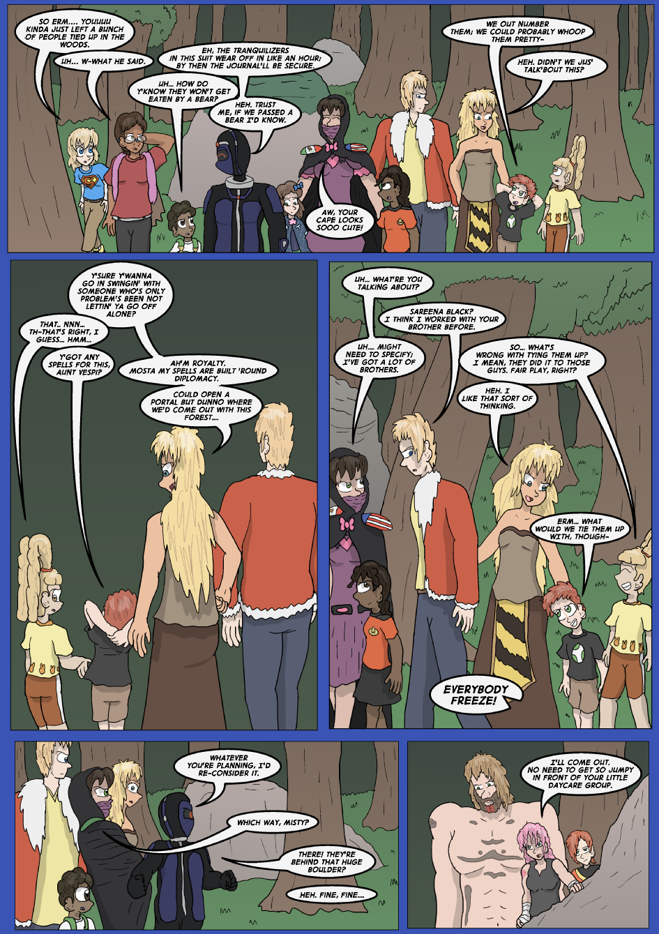 The Lost Spell of Baron Fontainebleu, Page 12