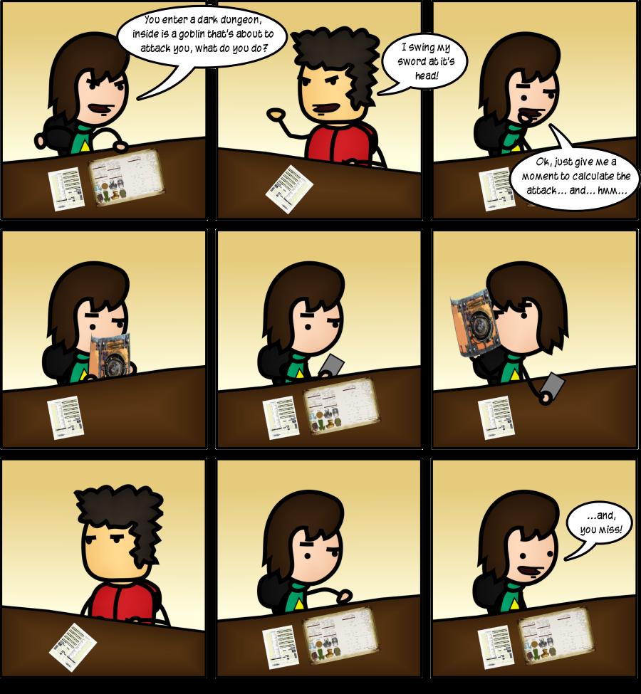 Playing Dungeons & Dragons