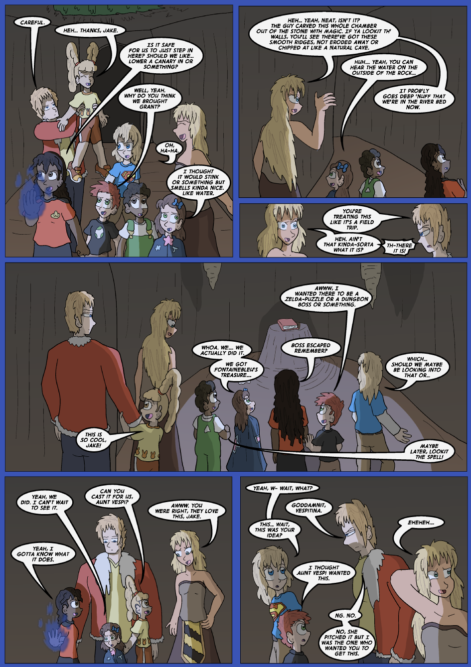 The Lost Spell of Baron Fontainebleu, Page 20