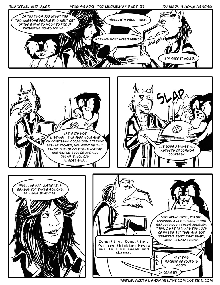 The Search for Murmilna (Part 27)