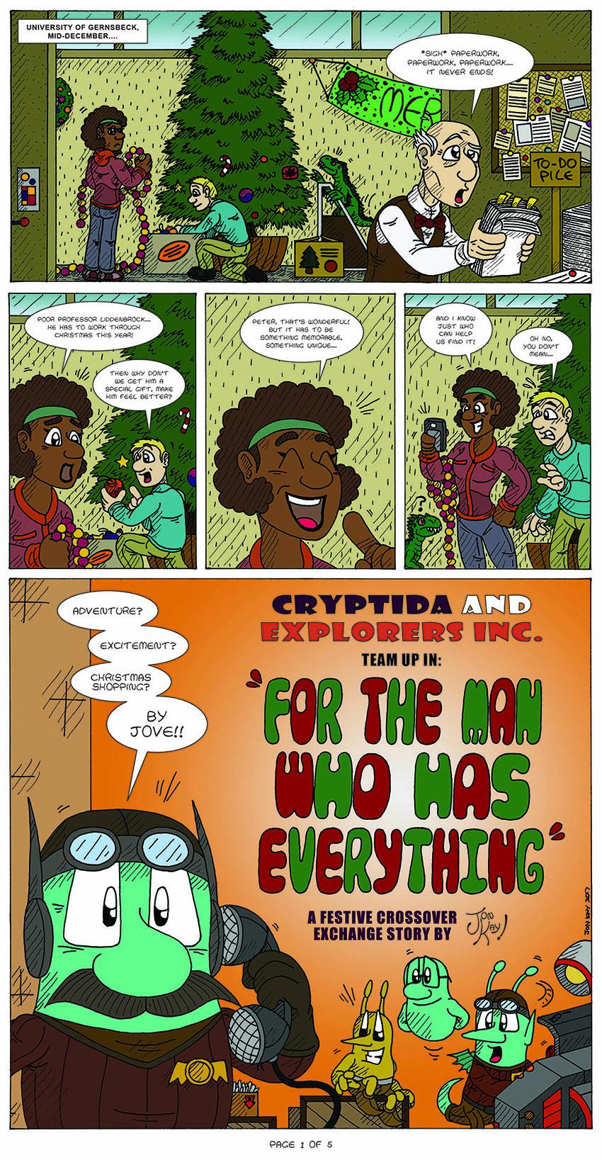 The Christmas 2017 Exchange, page 1