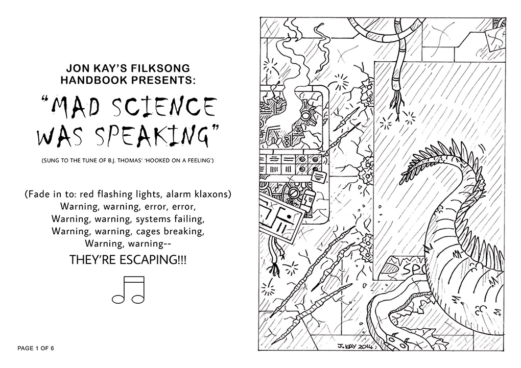 'Mad Science was speaking', page 1