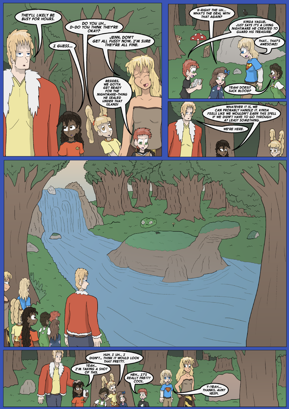 The Lost Spell of Baron Fontainebleu, Page 18