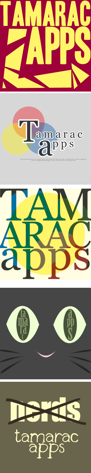 BCW: Rejected* Tamarac Apps Icons