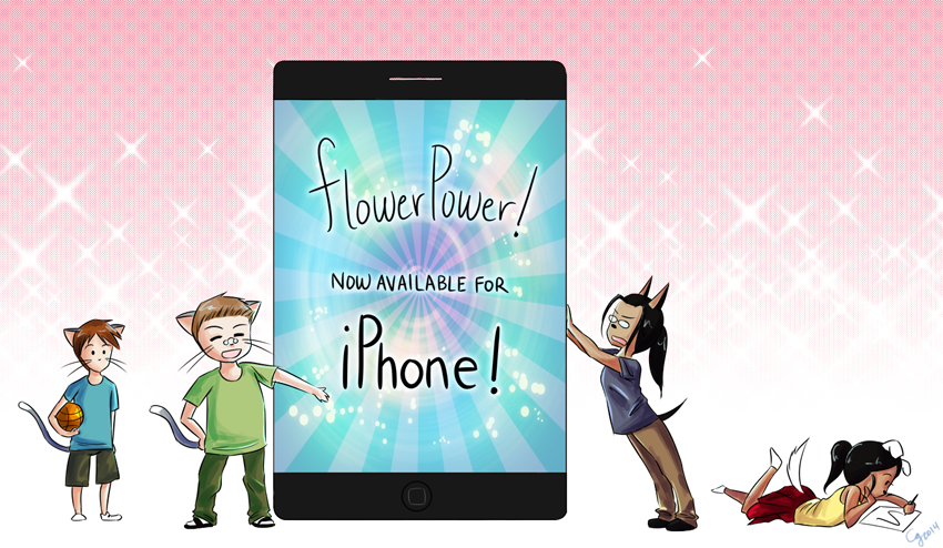 BCW: FlowerPower! on iPhone!
