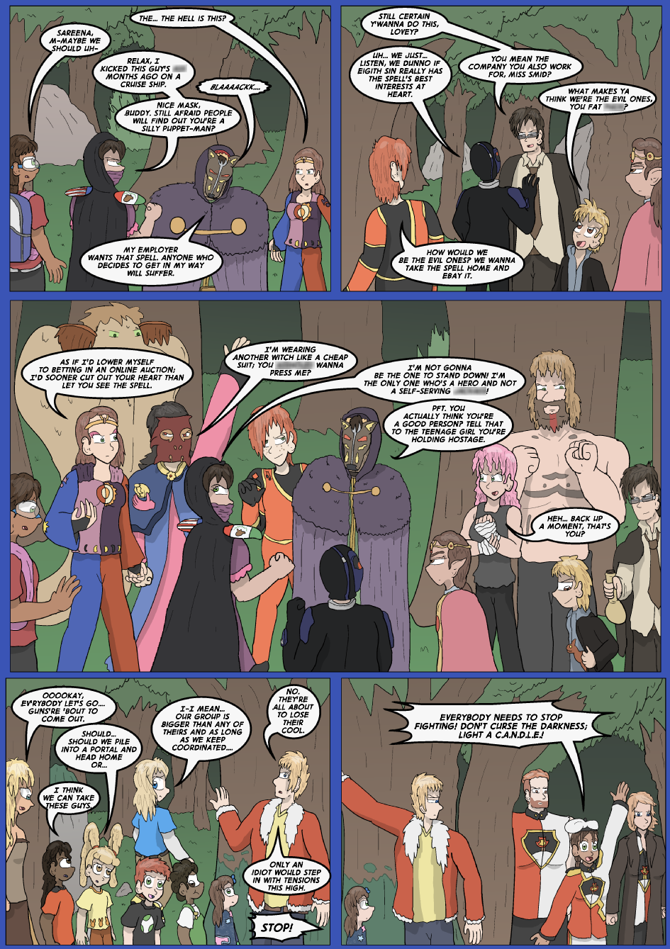 The Lost Spell of Baron Fontainebleu, Page 16