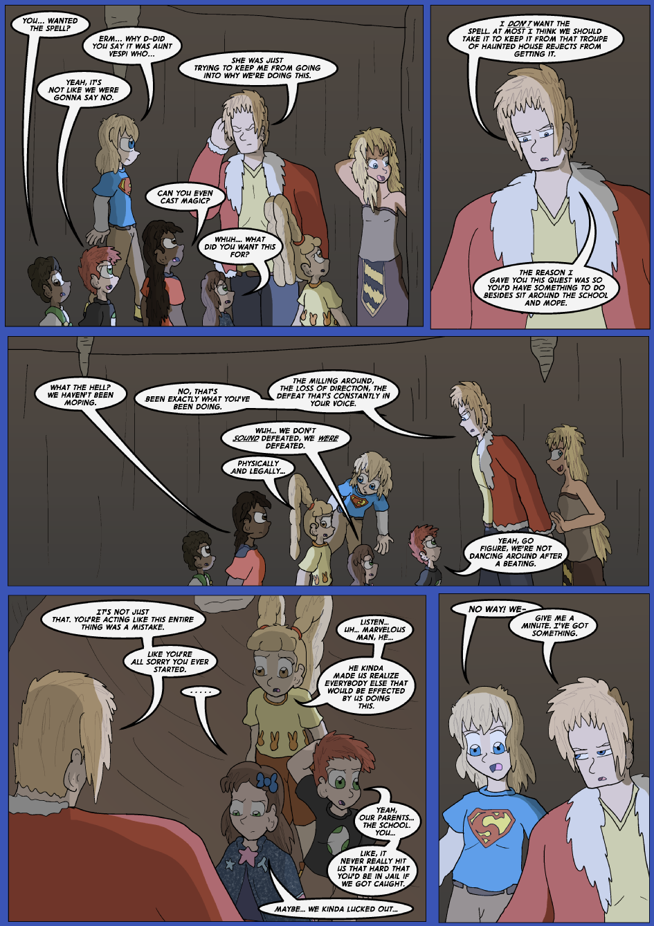 The Lost Spell of Baron Fontainebleu, Page 21