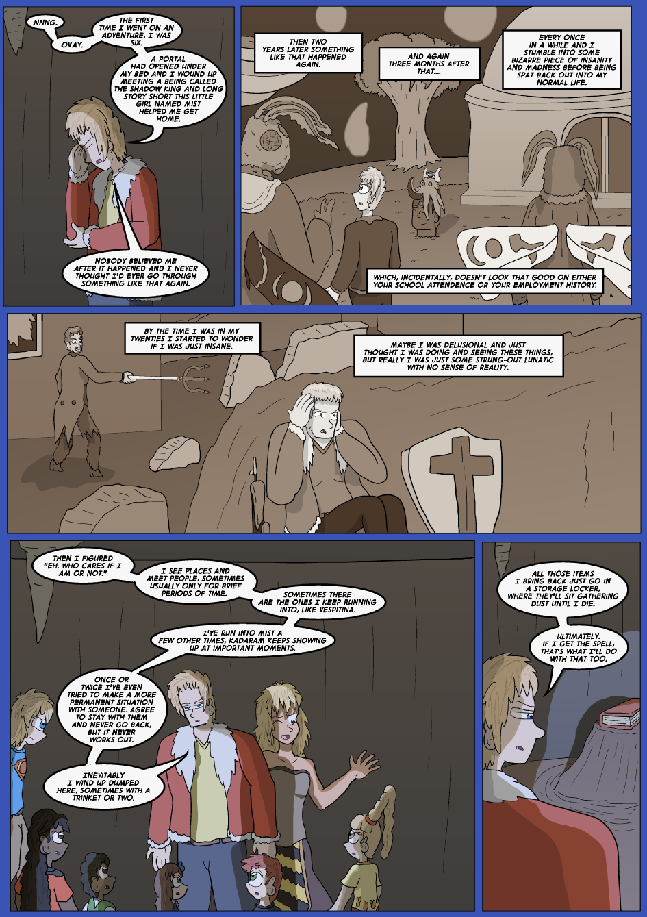 The Lost Spell of Baron Fontainebleu, Page 22
