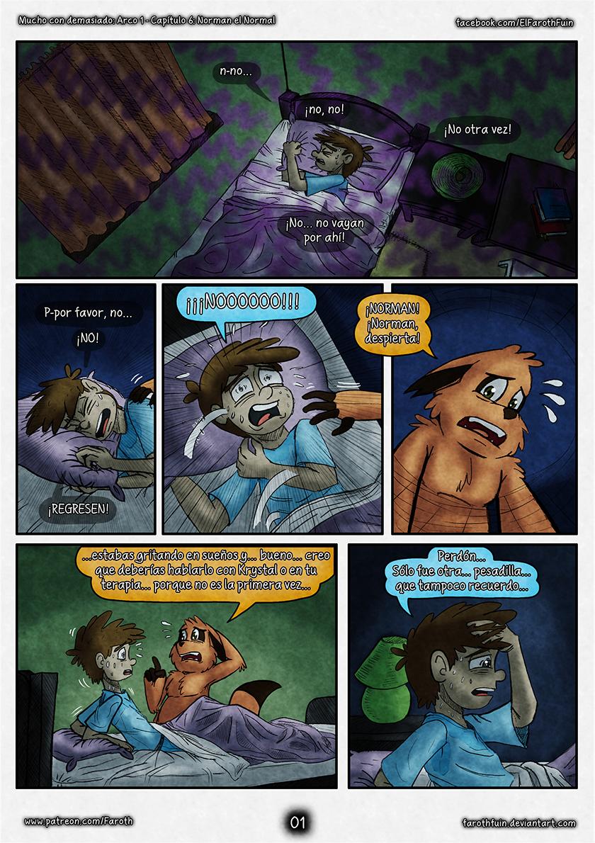 Cap 6 - Pag 01:  Otra Pesadilla Más