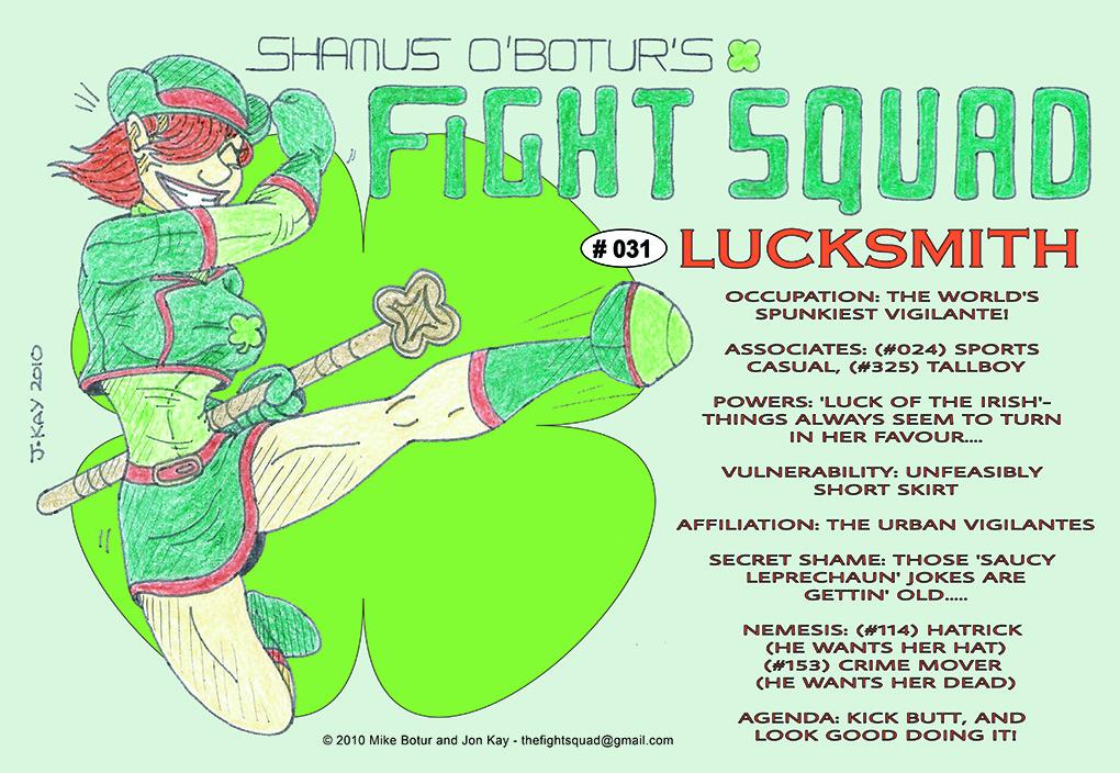 Character profile: Lucksmith