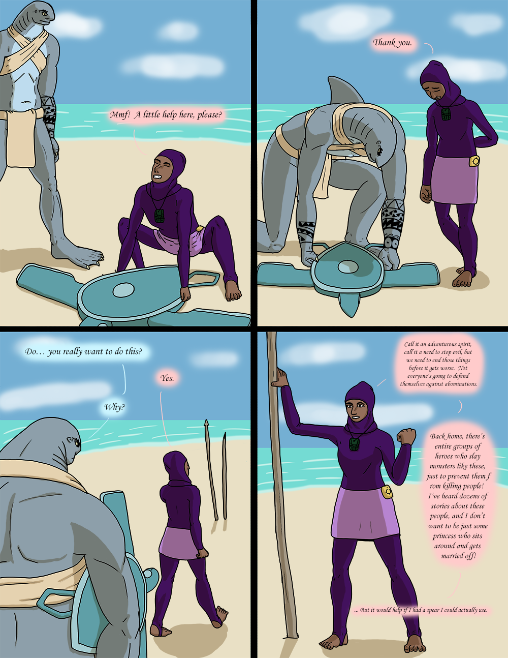 The Wide Ocean - Page 56