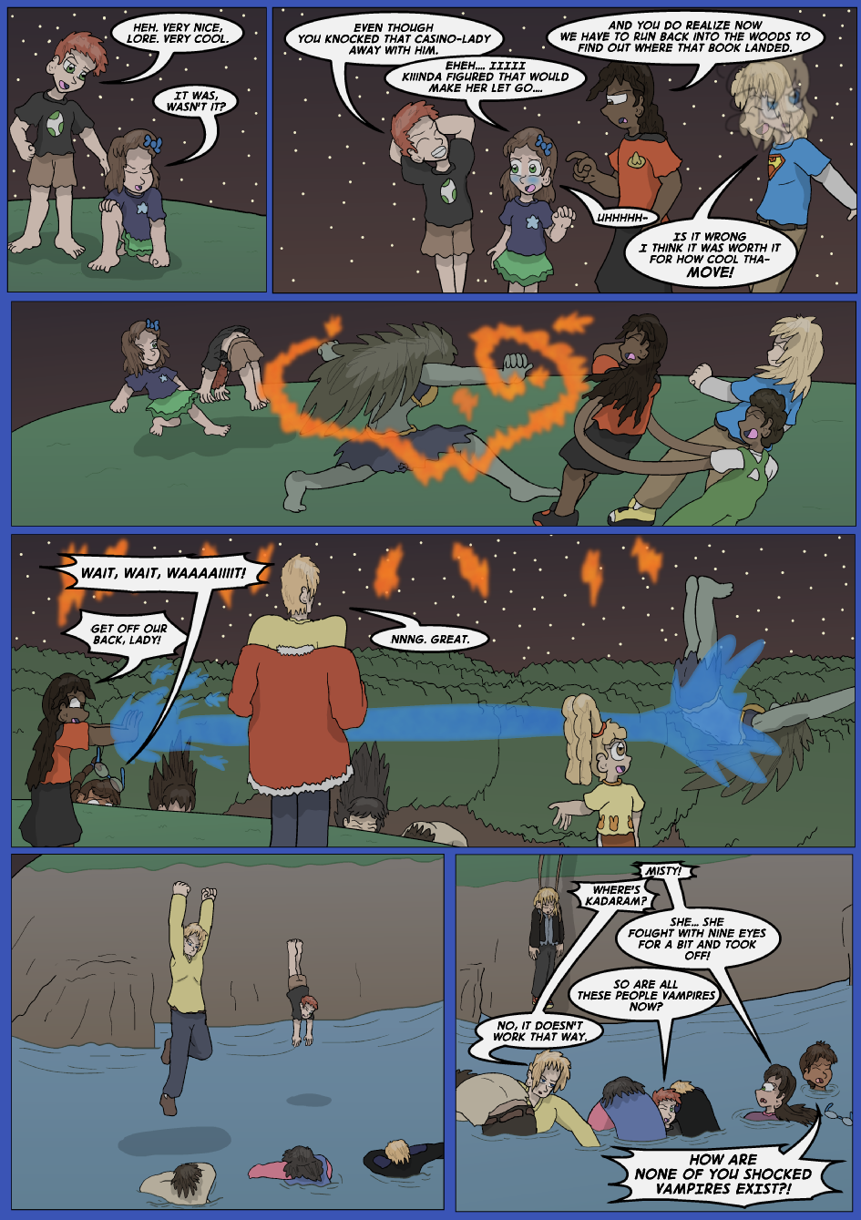 The Lost Spell of Baron Fontainebleu, Page 28