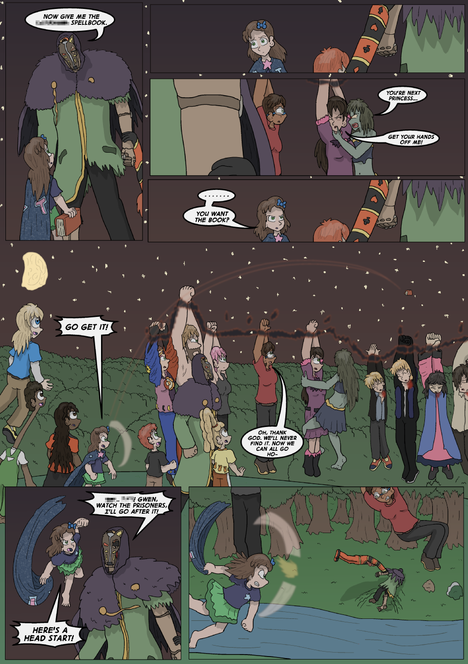 The Lost Spell of Baron Fontainebleu, Page 27