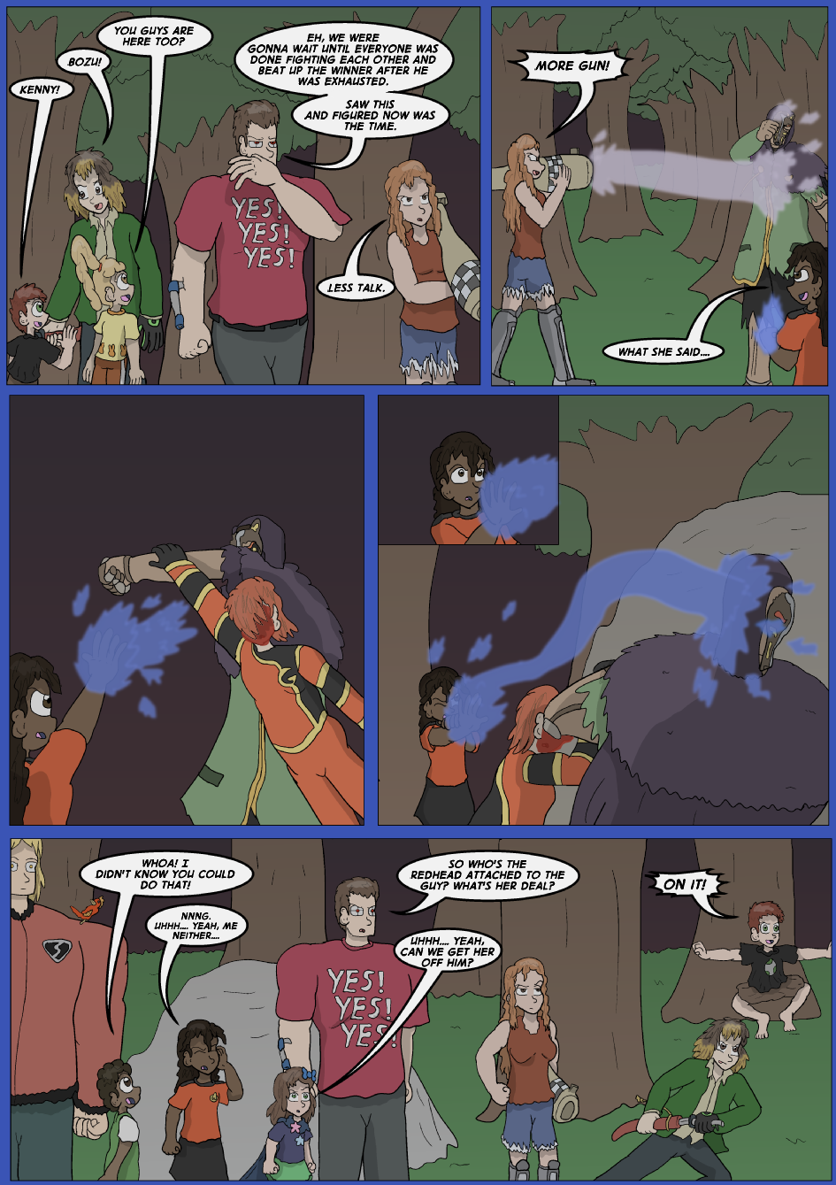 The Lost Spell of Baron Fontainebleu, Page 30
