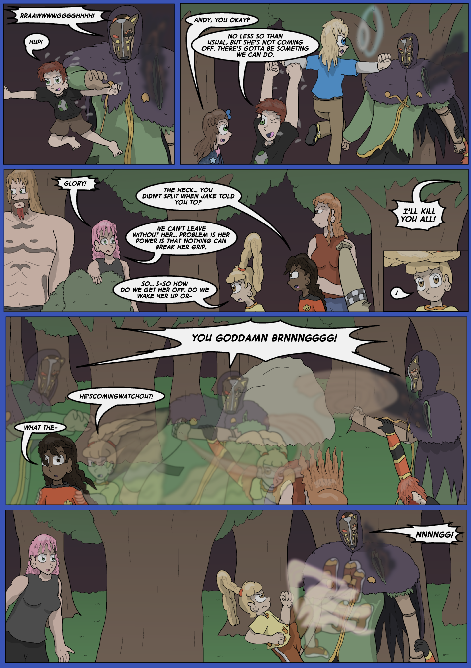 The Lost Spell of Baron Fontainebleu, Page 32