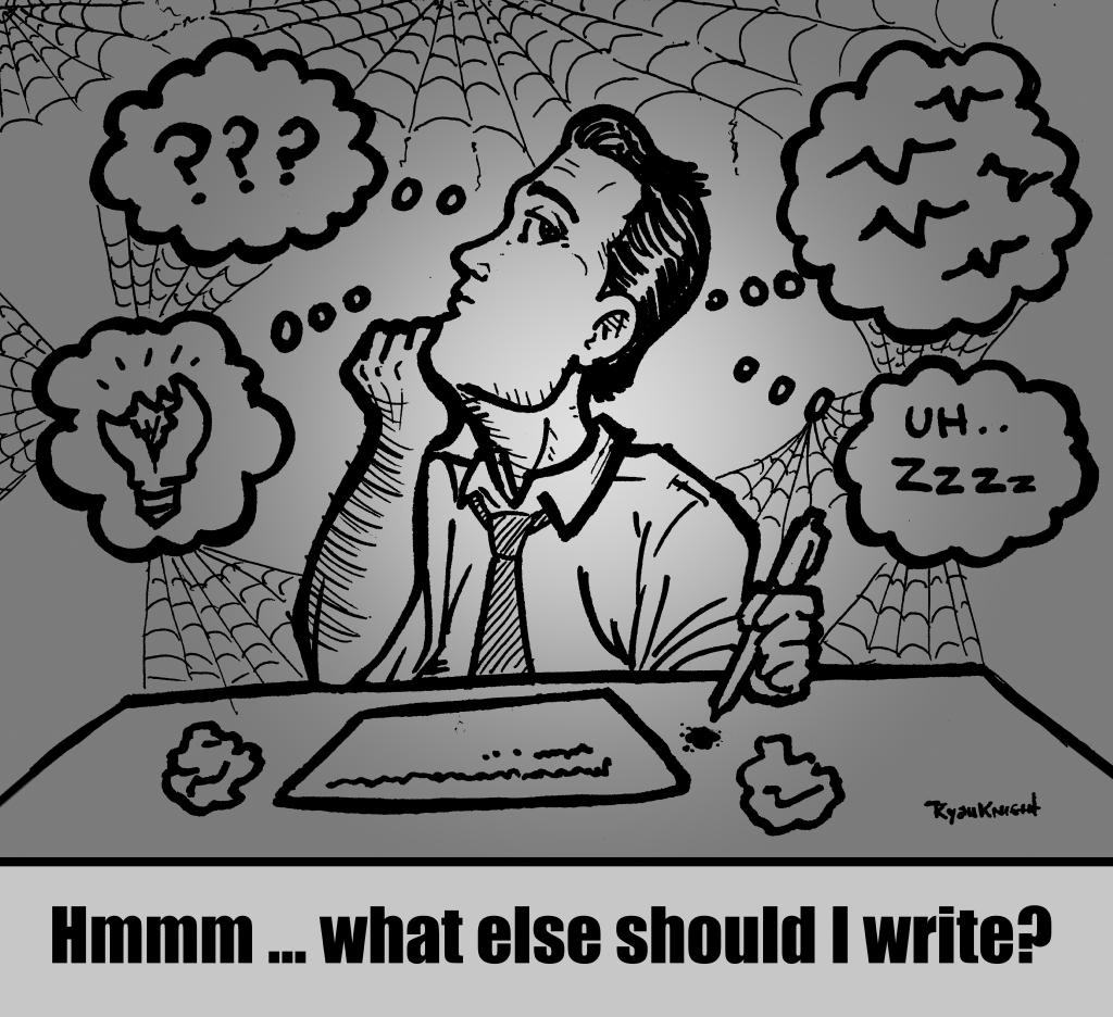 Hmmm ... what else should I write?