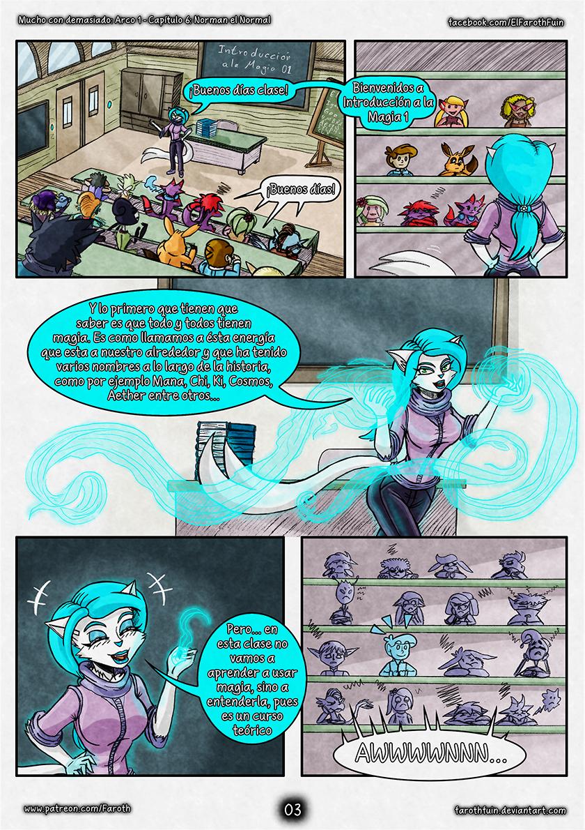 Cap 6 - Pag 03:  Introducción a la Magia 01