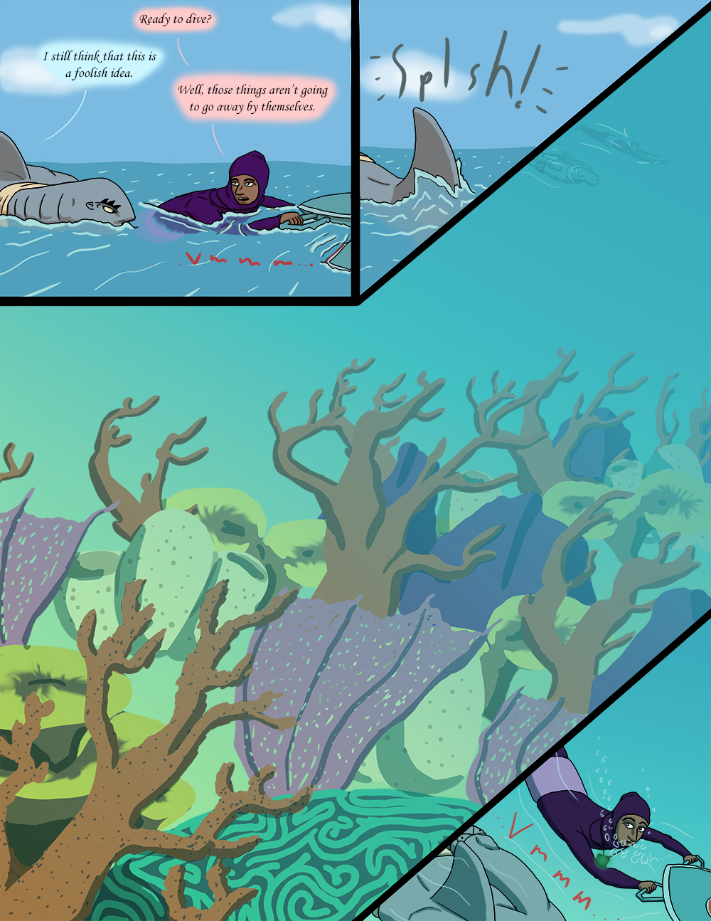 The Wide Ocean - Page 60