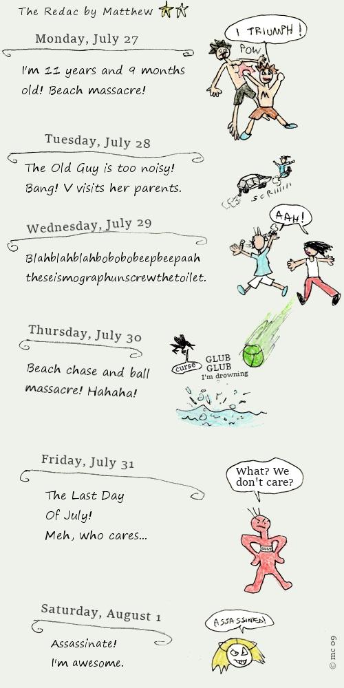 Week diary (R. #24)