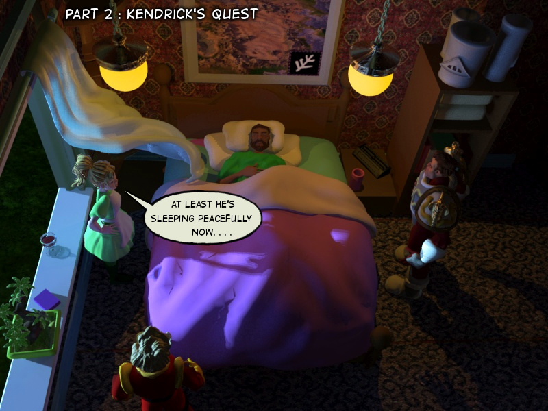 Part 2 : Kendrick's Quest