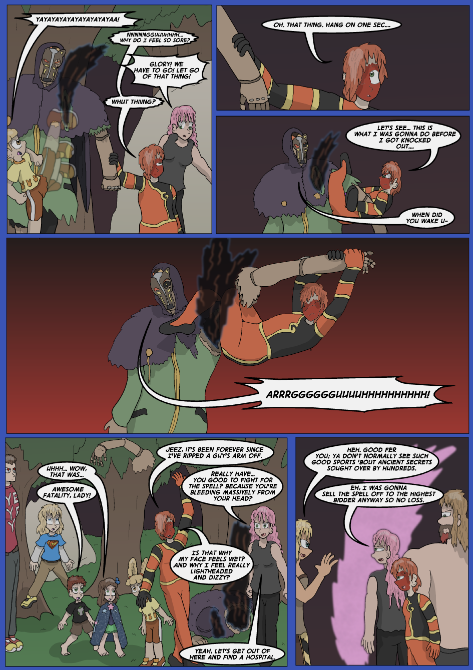 The Lost Spell of Baron Fontainebleu, Page 33