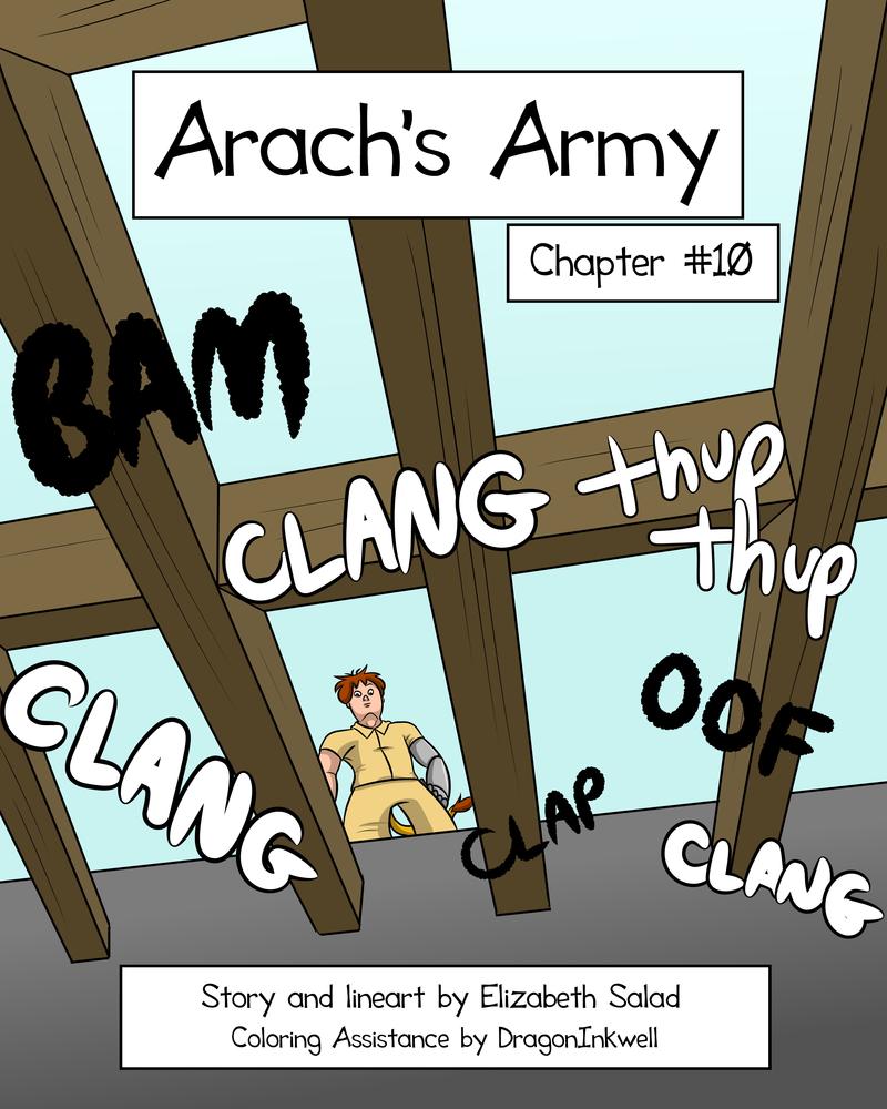 Arach's Army - COVER