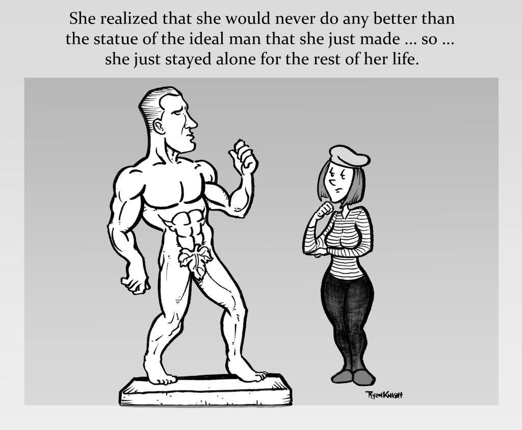 The Statue of the Ideal Man